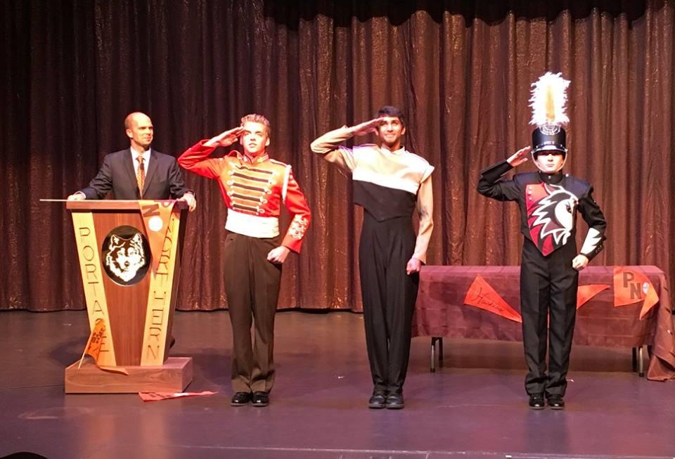 Portage Northern High school Band